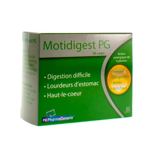 Motidigest Pg Pharmagenerix (30 Capsules)