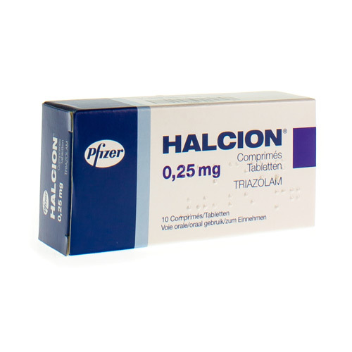 Halcion 0,25 Mg 10Comp