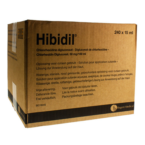 Hibidil 50 mg/100 ml (240 x 15 ml ampoules)