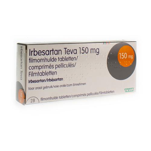 Irbesartan Teva 150 Mg (28 Comprimes)
