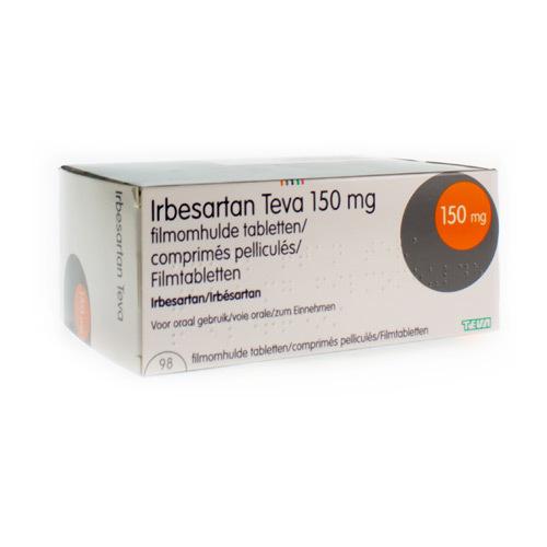 Irbesartan Teva 150 Mg (98 Comprimes)