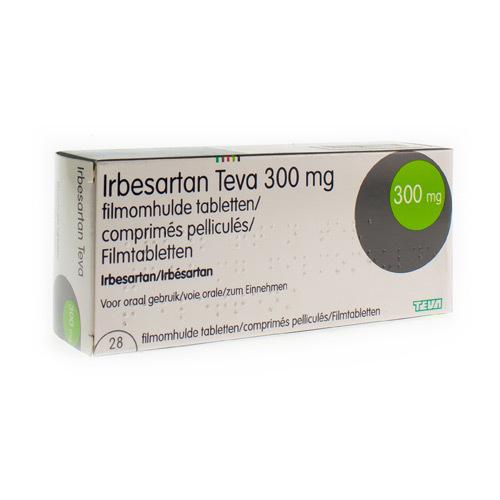 Irbesartan Teva 300 Mg (28 Comprimes)