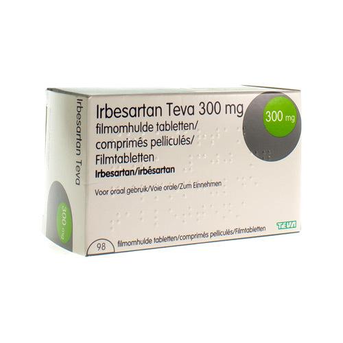 Irbesartan Teva 300 Mg (98 Comprimes)