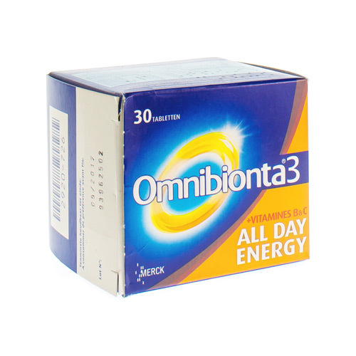 Omnibionta 3 All Day Energy (30 Tabletten)