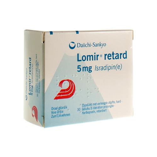 Lomir Retard 5 Mg (30 Capsules)