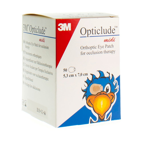 Opticlude Midi 5,3X7Cm 1538M 50Stuk