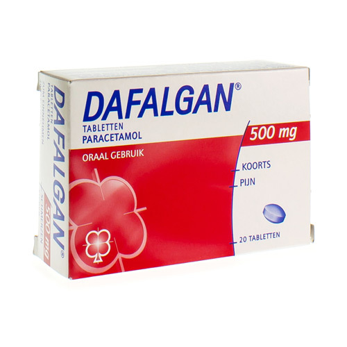 Dafalgan 500 Mg  20 Tabletten
