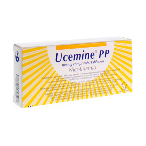 Ucemine Pp 100 Mg (50 Tabletten)