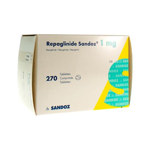 Repaglinide Sandoz 1 Mg (270 Comprimes)