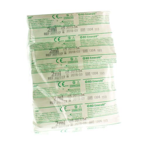 Bd Emerald Sering 2Ml Luer 100Pc R 307727