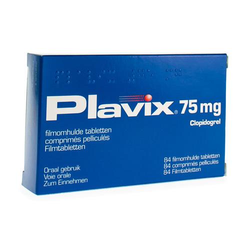 Plavix Pi Pharma 75 Mg (84 Comprimes)
