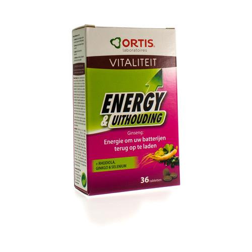 Ortis Energy & Endurance (36 Tabletten)