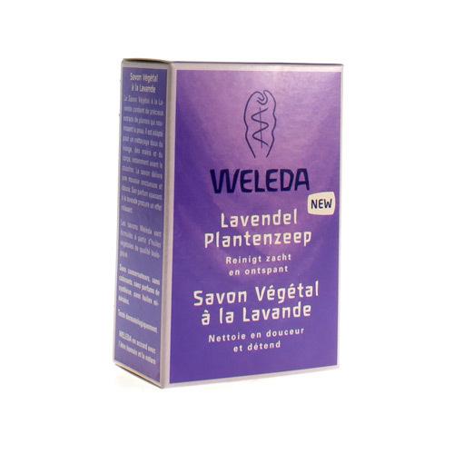 Weleda Lavendel Plantenzeep (100 Gram)