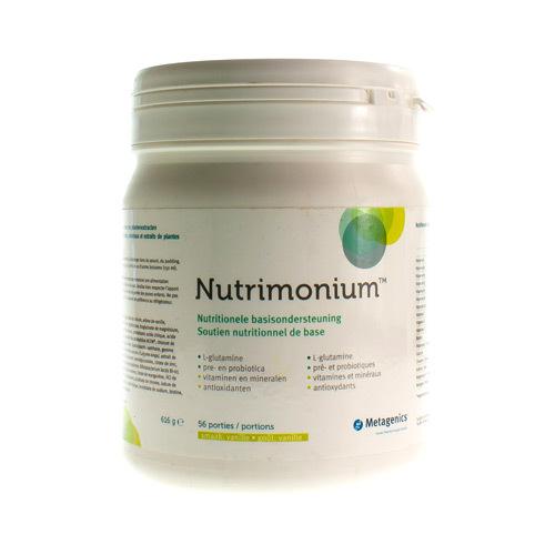 Nutrimonium Vanille (626 Gram)