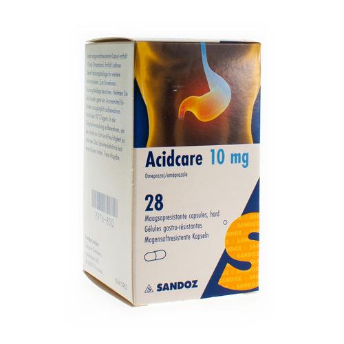 Acidcare Sandoz 10 Mg  28 Capsules
