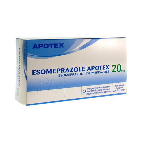 Esomeprazole Apotex 20 Mg (28 Comprimes)