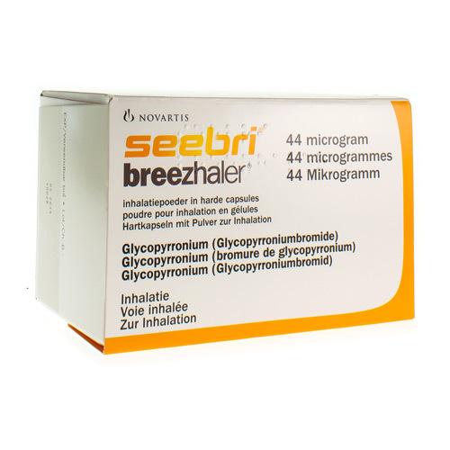 Seebri Breezhaler 44 Mcg (30 Gelules)