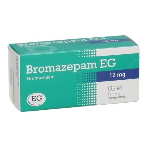 Bromazepam EG 12 Mg  60 Comprimes