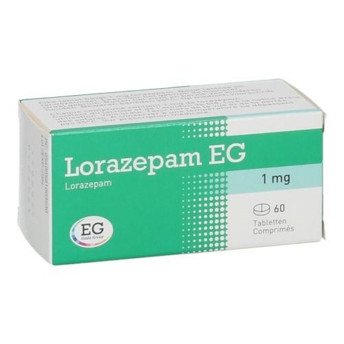 Lorazepam EG 1 Mg (60 Comprimes)