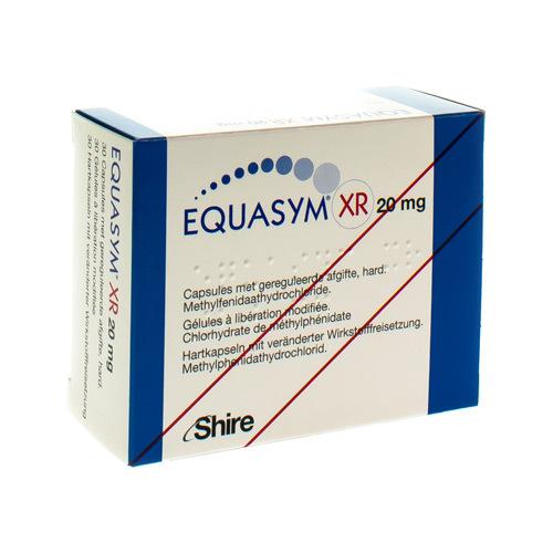 Equasym Xr 20 Mg (30 Gelules)