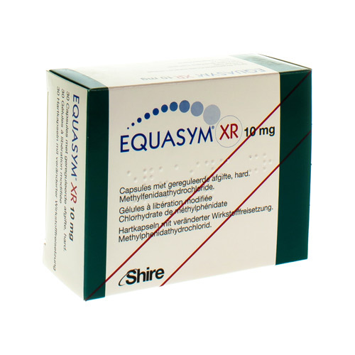 Equasym Xr 10 Mg (30 Gelules)