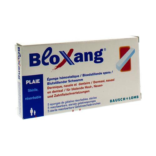 Bloxang Eponge Hemostatique 5Pcs