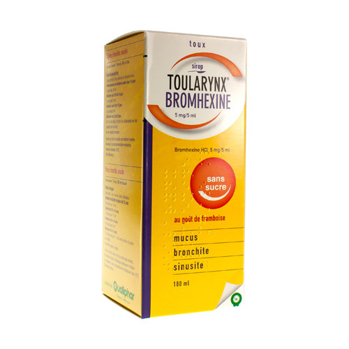 Toularynx Bromhexine 5 Mg/5 Ml (180 Ml)