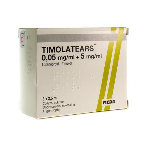 Timolatears 50Ï¿½G/Ml+5Mg/Ml 3Flac