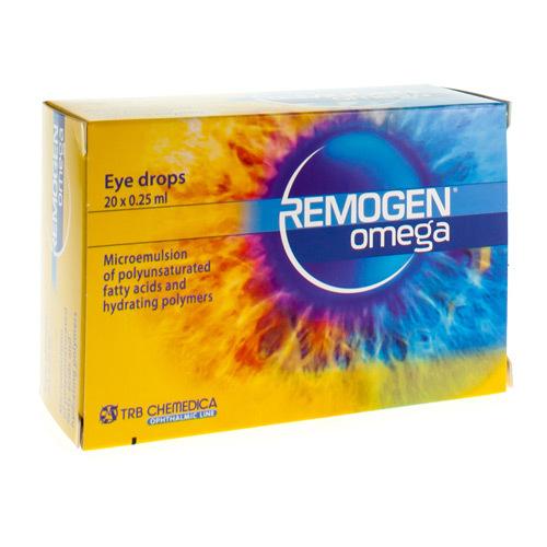Remogen Omega Oogdr 0,25 Ml 20Stuk