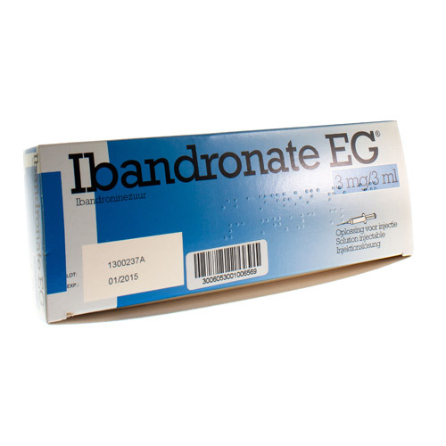 Ibandronate EG 3 Mg (1 Seringue)