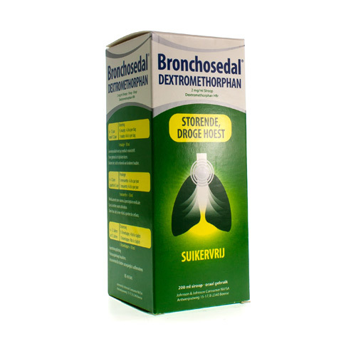 Bronchosedal Dextromethorphan 2 Mg/Ml  200 Ml