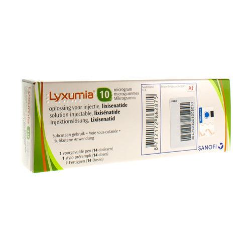 Lyxumia 10 Mcg (1 Stylo)