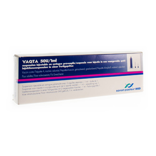 Vaqta 50 U/1 Ml (1 Seringue)