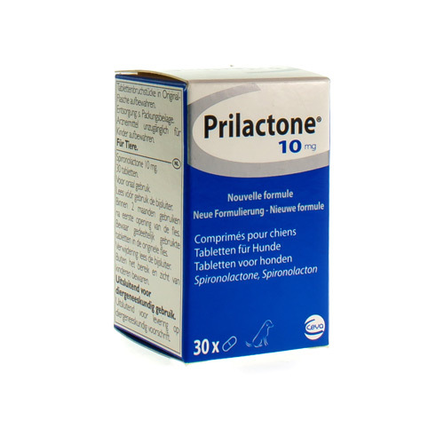 Prilactone Veterinaire 10 Mg (30 Comprimes)