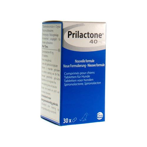 Prilactone Veterinaire 40 Mg (30 Comprimes)