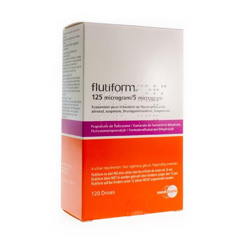 Flutiform 125 Mcg / 5 Mcg (3 X 120 Doses)