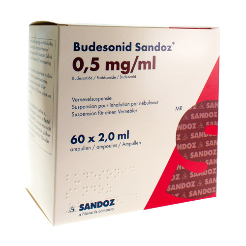 Budesonide Sandoz 0,5 Mg/Ml  60 Ampoules