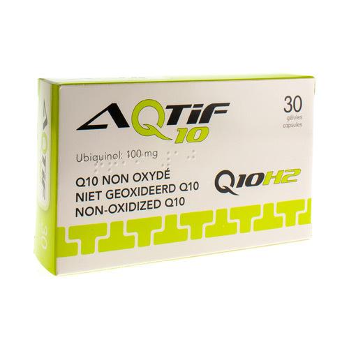 Aqtif 10  30 Capsules