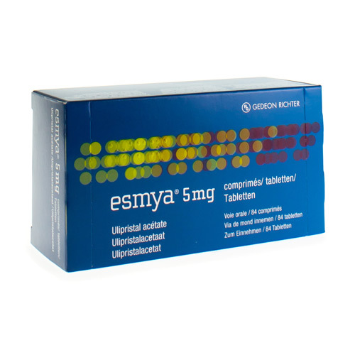Esmya 5 Mg (84 Comprimes)
