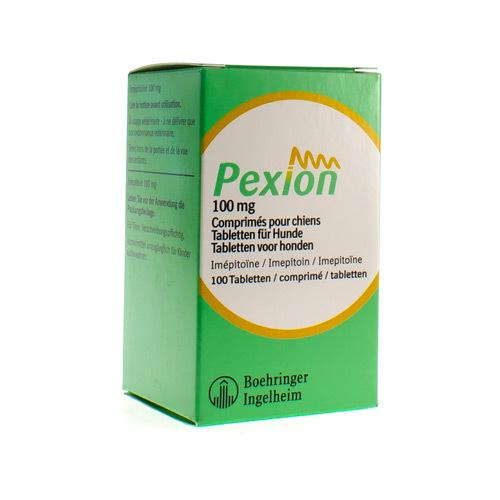 Pexion Veterinaire 100 Mg (100 Comprimes)