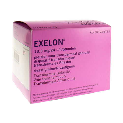 Exelon 13,3 Mg/24 H (90 Dispositifs)