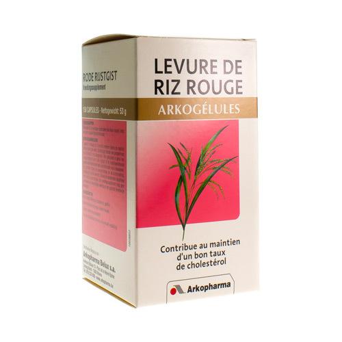 Arkocaps Levure De Riz Rouge  150 Capsules