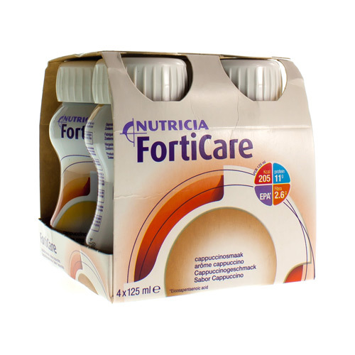 Forticare Cappuccino (4 X 125 Ml)