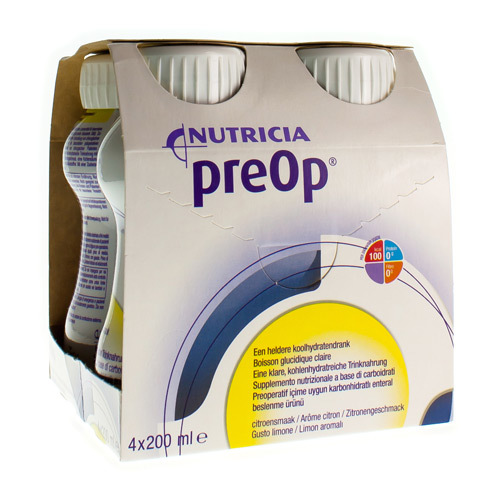 Preop Citron (4 X 200 Ml)