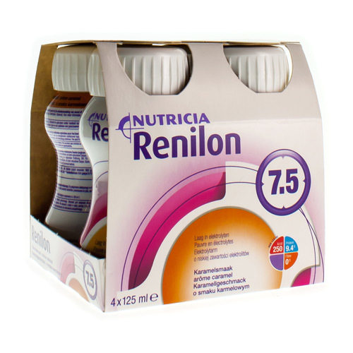 Renilon 7.5 Caramel (4 X 125 Ml)