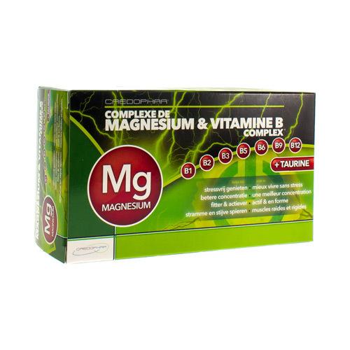 Magnesium & Vitamine B Complex (60 Gelules)