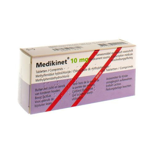 Medikinet 10 Mg (30 Comprimes) - Pharmacie Medibib