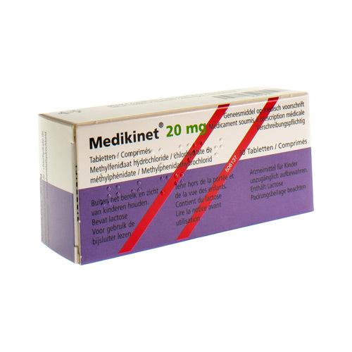 Medikinet 20 Mg (30 Comprimes)