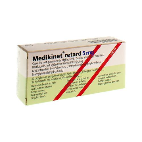 Medikinet Retard 5 Mg (30 Gelules)