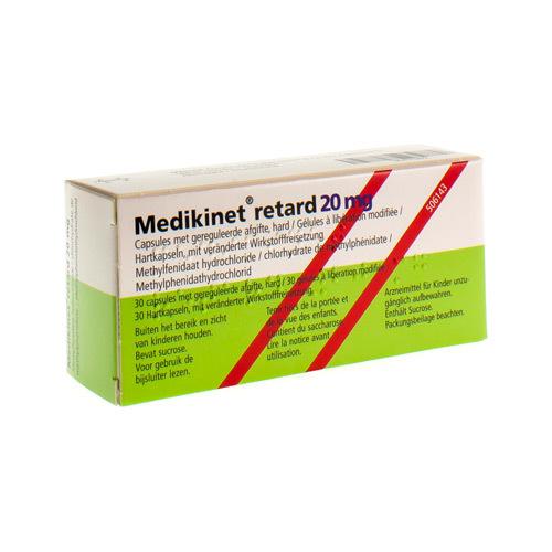 Medikinet Retard 20 Mg (30 Gelules)